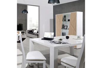 1009f17d137a9 Table Table à manger design blanche architecte Nouvomeuble