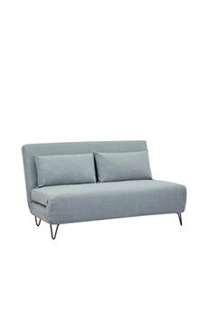 f76d814b185 Clic clac Joe harper - canapé convertible 2 places en tissu - couleur -  gris clair