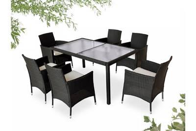Ensemble table et chaise de jardin Bobochic Bobochic cordoba - salon ...