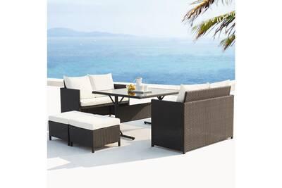 Ensemble table et chaise de jardin Jfb Services Le cosmo : salon ...