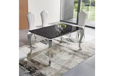 Table A Manger Marbre.Table A Manger Plateau Effet Marbre Marli