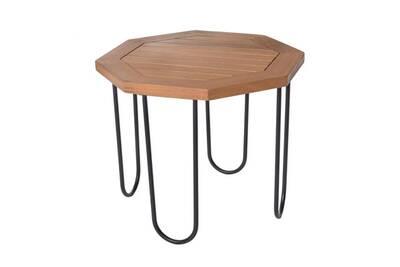 Table De Jardin Tousmesmeubles Table D Appoint D Exterieur Metal