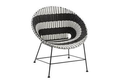 chaise en plastique darty