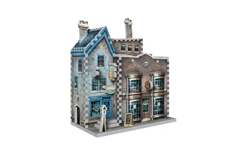Jeux en famille Wrebbit Puzzle Harry potter - puzzle 3d ollivander's wand shop & scribbulus writing implements