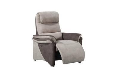 la meilleure attitude 20390 3d3c3 Fauteuil relax électrique brun/mastic - zenia - l 85 x l 96 x h 107 - neuf