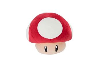 Peluches Tomy Nintendo - peluche mario kart mocchi-mocchi super mushroom 40 cm