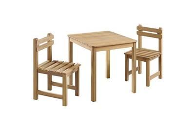 Ensemble Table Et Chaise De Jardin GENERIQUE Salon