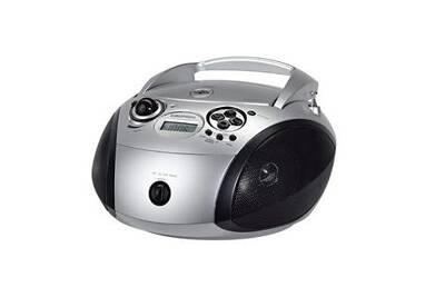 Mini Chaine Radios Cd 3w Gris