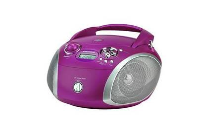 Mini Chaine Radios Cd 3w Violet