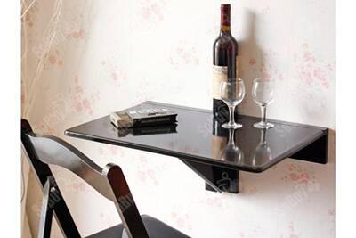 Sobuy Fwt03 Sch Table Murale Rabattable Table De Cuisine Pliante Table à Rabat Pour Enfant Pliable