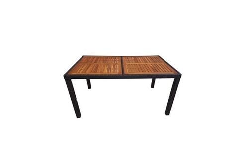 Ensemble table et chaise de jardin GENERIQUE Salon de jardin ...