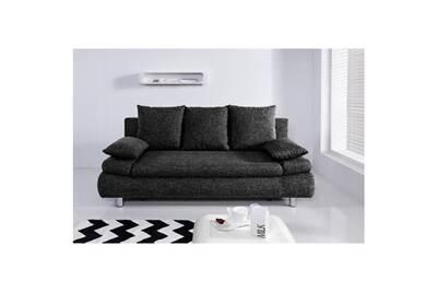 Anthracite Cm Naho L P Convertible Tissu X 97 Places Sofa Canape Contemporain Canapé 3 Gris Droit 205 Divan bgy7Yf6