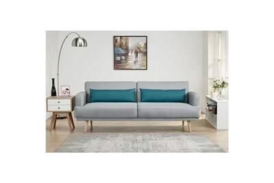 X Droit Gris Cm Divan Tissu Canape L P Places Sofa 86 Convertible 3 214 Tom Canapé Scandinave qzMGpSUV