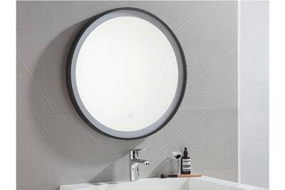 Ensemble salle de bain Vente-unique Miroir de salle de bain lumineux ...