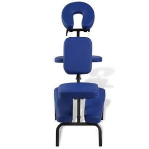 meilleur authentique ca364 bc9ec Icaverne - fauteuils de massage superbe chaise de massage pliante et  portable bleu