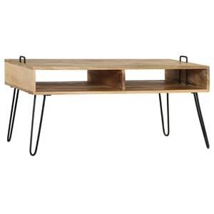100 tables bois x de manguier 45 x cm vidaxl basse 60 superbe table Icaverne massif basses SpzMVU