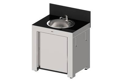 Module Evier Pour Cuisine Extérieure Modulo Hpl Et Inox Eno
