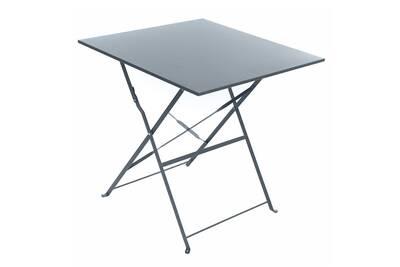 Table De Jardin Hesperide Table De Jardin Carree Camargue 70 X 70 Cm Ardoise Mat Hesperide Darty