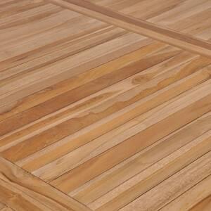 Icaverne - tables de jardin inedit table de jardin 200x100x77 cm bois  solide de teck