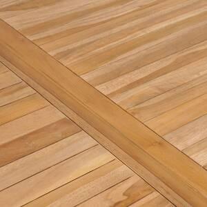 Icaverne - tables d\'extérieur superbe vidaxl table à dîner d\'extérieur  150x90x77 cm bois solide de teck