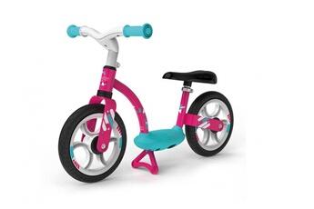 Porteur SMOBY Draisienne fille vélo sans pédale smoby