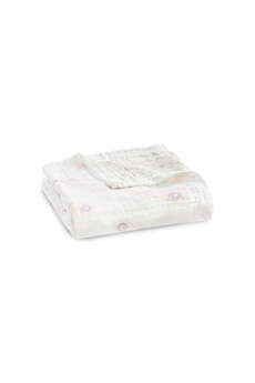 Linge de lit bébé Aden And Anais Couverture de rêve dream blanke silky soft - featherlight