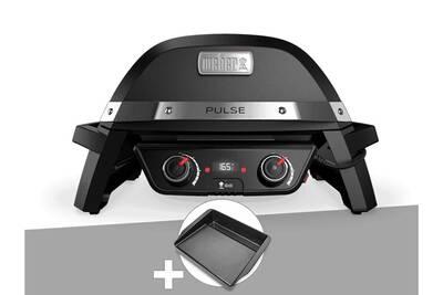 barbecue weber barbecue lectrique weber pulse 2000. Black Bedroom Furniture Sets. Home Design Ideas
