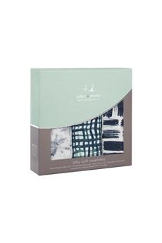 Coffret naissance Aden And Anais Pack de 3 maxi-langes silky soft - seaport