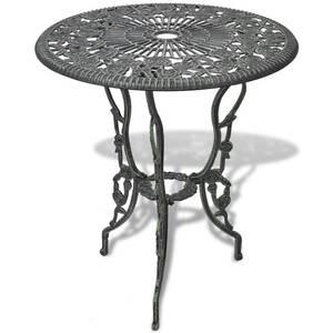 Icaverne - ensembles de meubles d\'extérieur superbe vidaxl jeu de bistro 3  pcs aluminium coulé vert