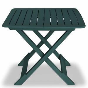 Icaverne - ensembles de meubles d\'extérieur superbe vidaxl jeu de bistro de  jardin 3 pcs plastique vert