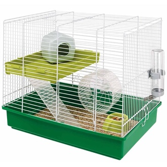 Cage pour hamster duo 46 x 29 x 37 5 cm 57025411