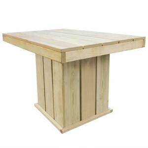 Icaverne - ensembles de meubles d\'extérieur superbe vidaxl jeu de bar  d\'extérieur 110x75x74 cm bois de pin imprégné fsc