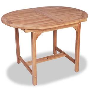 Icaverne - ensembles de meubles d\'extérieur superbe vidaxl ensemble à dîner  de jardin 7 pcs teck massif avec table extensible
