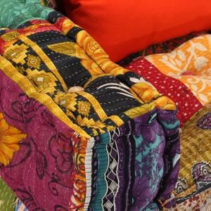 Icaverne - ensembles de meubles de salon-séjour superbe ensemble de canapés  modulaires 6 pcs tissu patchwork