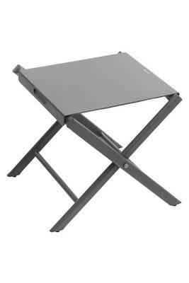 Table d\'appoint de jardin melbourne - pliante - gris anthracite