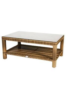 Table de jardin Hesperide Table basse de jardin résine tressée - l ...