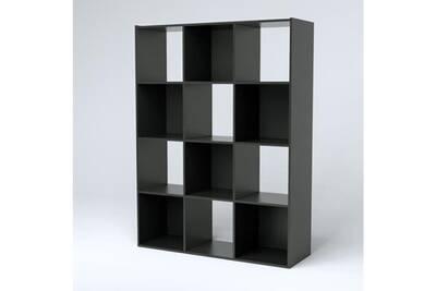 Compo Meuble De Rangement Noir.Petit Meuble De Rangement Compo Meuble De Rangement Contemporain Noir Mat L 92 Cm