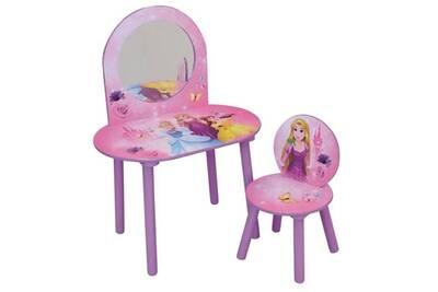 Coiffeuse Disney Princesses Coiffeuse Avec Chaise Pour Enfant