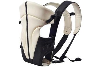 Porte bébé 0-2 Ans Portable ventilation adjustable buckle baby travel blanc