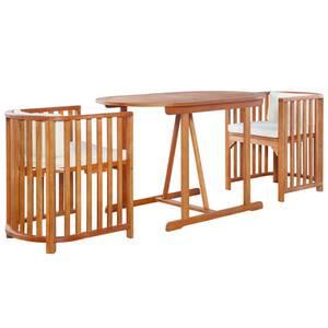 Ensemble table et chaise de jardin Vidaxl Mobilier de jardin 7 pcs ...