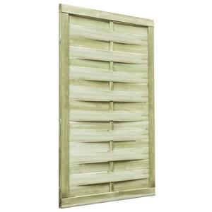 Portillon Vidaxl Portail de jardin bois de pin imprégné fsc 100 x ...