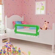 Barrière de lit Vidaxl Barrière de lit de sécurité pour tout-petits 2pcs vert 102x42cm