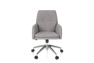 meilleur service 4520c d3adf Chaise de bureau / pivotante shake 350 tissu gris clair hjh office
