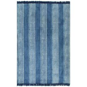 tapis d entr e vidaxl tapis kilim coton 160 x 230 cm avec. Black Bedroom Furniture Sets. Home Design Ideas