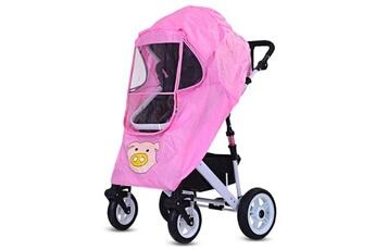 ce90153fe05b3 Accessoire poussette Rouge Housse pluie poussette bébé type universel