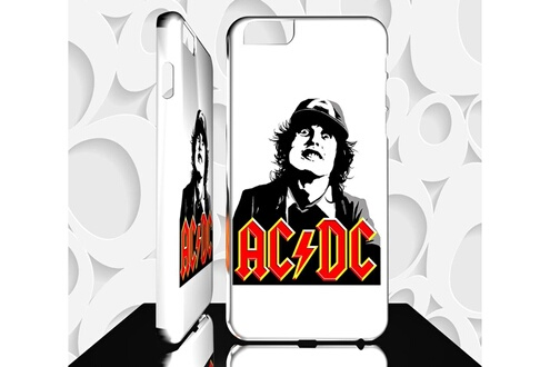 coque acdc iphone 8