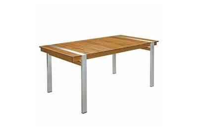 Table de jardin Tousmesmeubles Table de repas rectangulaire 220 cm ...