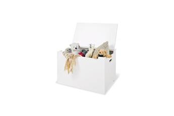 Coffre à jouets Pinolino Coffre jouets en bois blanc