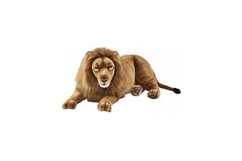 Peluches Hansa Peluches G?antes Hansa peluche geante lion couche 100cml