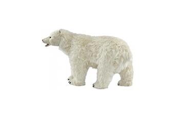 Peluches Hansa Peluches G?antes Hansa peluche geante ours polaire 4 pattes 65 cm h 105 cm l